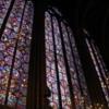 Stained glass windows at Saint-Chapelle, Paris