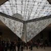 Inverted pyramid, Louvre, Paris