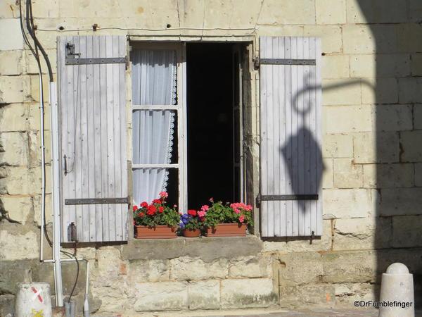 French village, window
