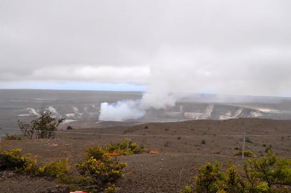Volcanoes N.P. -- Halema'uma Crater