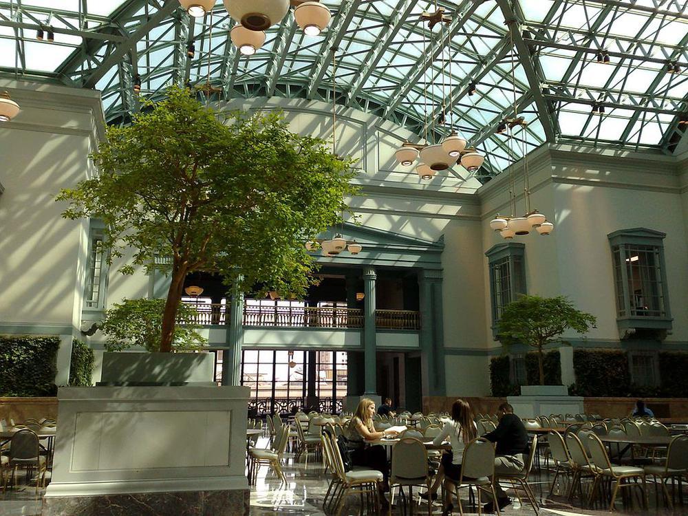 Chicago 39 S Harold Washington Library Where Gumbo Was 59