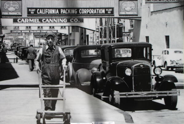 Cannery Row, Historic photo