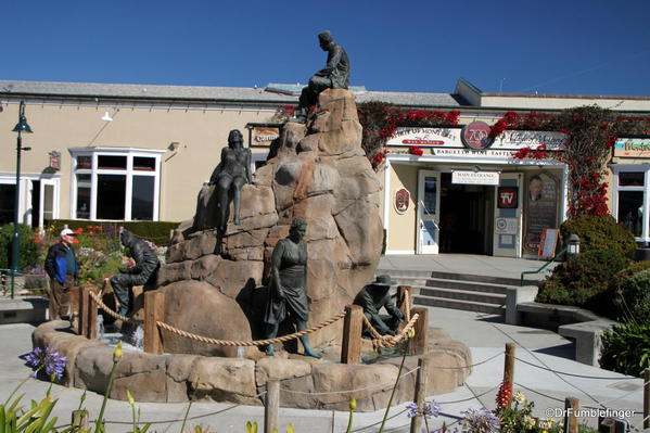 Steinbeck plaza, Cannery Row