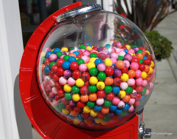 Bubble Gum machine, Cannery Row