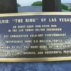 Plaque displayed on the Statue of Elvis Presley: Westgate Las Vegas Resort and Casino, Las Vegas, Nevada