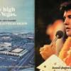 Elvis souvenir menu from the Las Vegas Hilton, 1975