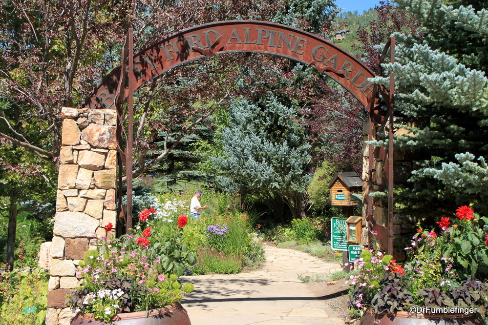Elegant Entrance To Betty Ford Alpine Garden, Vail