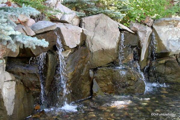 Waterfall, Betty Ford Alpine Garden, Vail