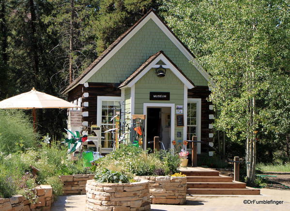 Schoolhouse Museum and Gift shop, Betty Ford Alpine Garden, Vail