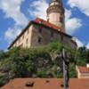 Cesky Krumlov.  Castle Tower