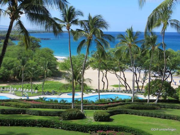 Pool area and beach, Hapuna Beach Prince Resort