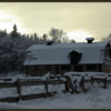 Shannon Terrace Barn: Snowy day in Fish Creek Park
