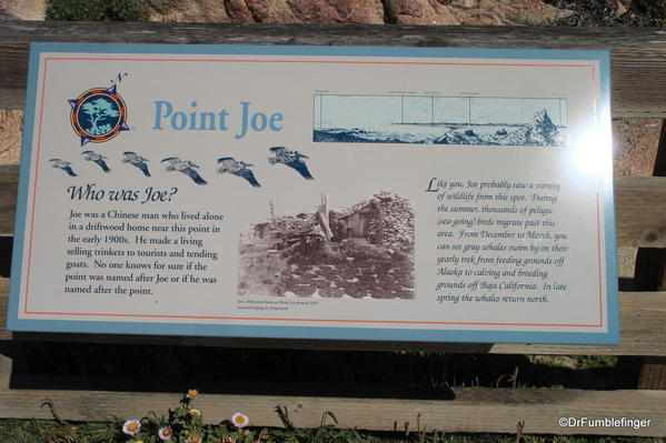 Seventeen Mile Drive, Point Joe