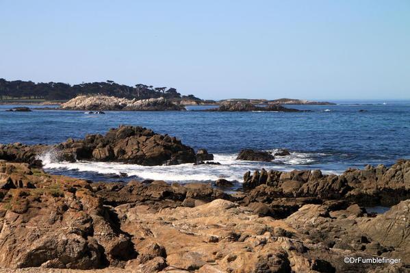 Seventeen Mile Drive, Coastal scenery