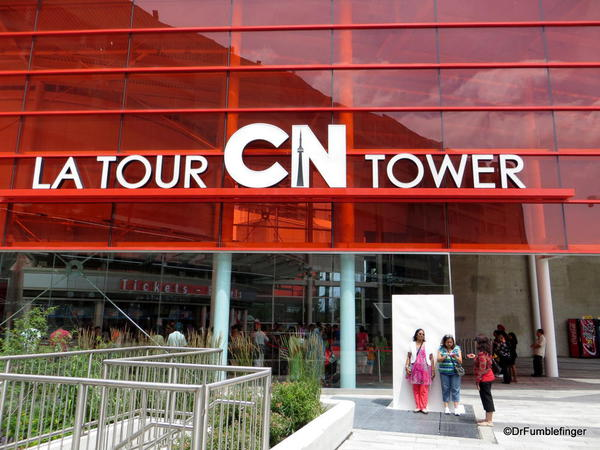 Entrance to the CN Tower, Toronto