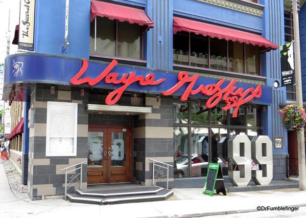 Wayne Gretzky's pub, Toronto