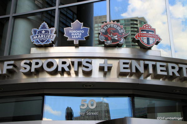 The Air Canada Center, home to Toronto's main sport teams