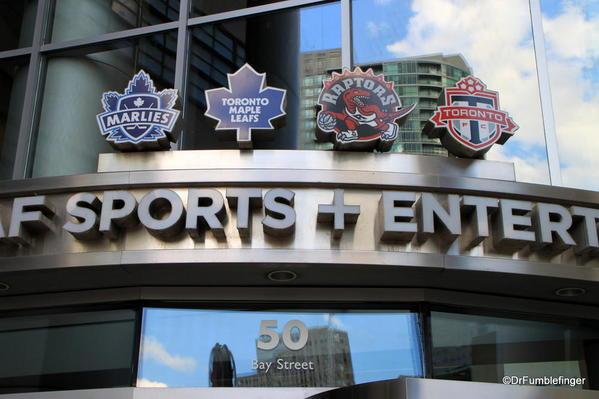 The Air Canada Center, home to Toronto's main sport teams