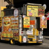 One of Toronto's many food trucks, this one focusing on poutine (fried potatoes, gravy, with cheese curds -- great when done right!)