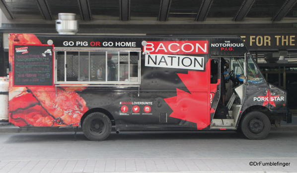 Signs of Toronto. mmmmmm Bacon!!!