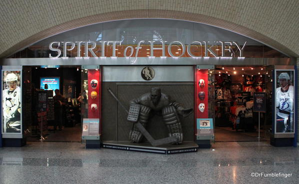 Entrance to the Hockey Hall of Fame, Toronto