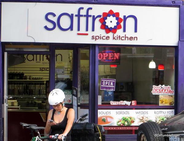 Signs of Toronto,Saffron