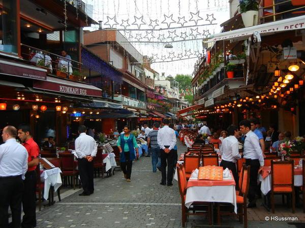 Istambul 2014 274 Fancy seafood dinnner area