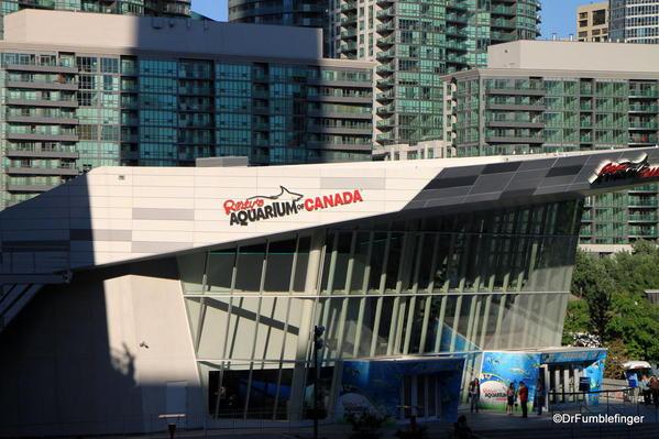 Exterior, Ripley's Aquarium of Canada, Toronto
