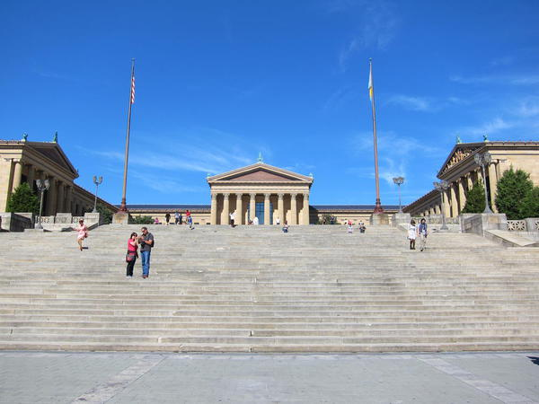Rocky steps, Museum of Art, Philadelphia