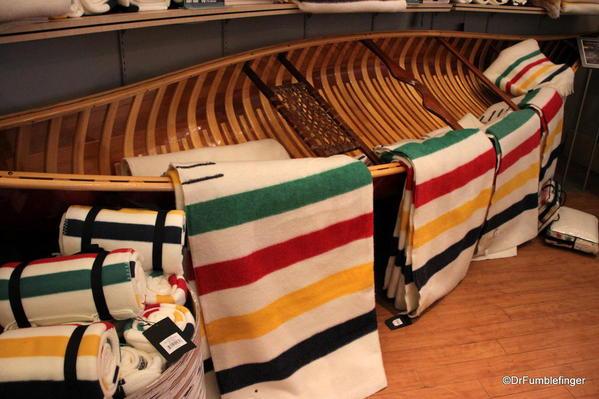 01 Hudson Bay blankets, Banff