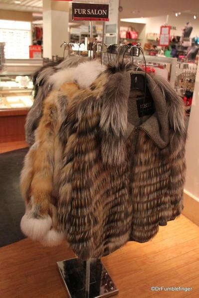 Hudson Bay fur coats, Banff
