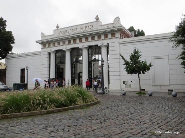 Buenos Aires' Recoleta Cemetery, entrance