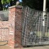 Driving through Graceland's famous gates