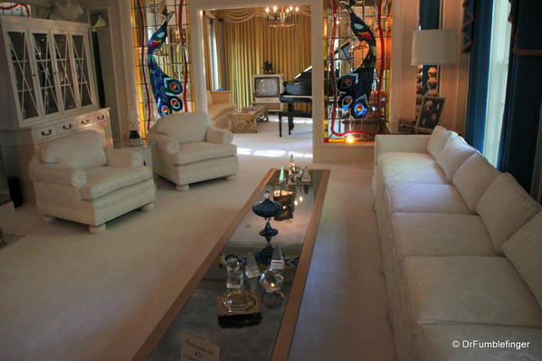 Graceland, Memphis. Living Room