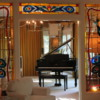 Graceland, Memphis.  Piano room