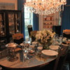 Graceland, Memphis.  Dining room
