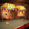 Graceland, Memphis.  Billiard room