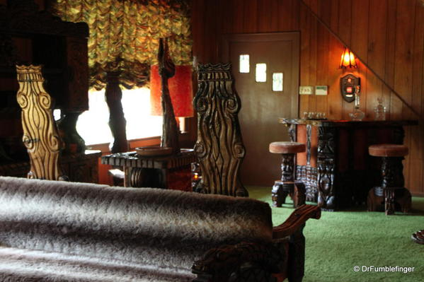 Graceland, Memphis. Jungle room