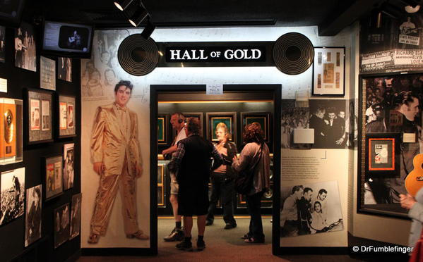 Graceland, Memphis. Trophy room. Hall of Gold