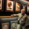 Graceland, Memphis.  DrFumblefinger enjoying the Trophy room.  Hall of Gold
