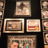 Graceland, Memphis.  Elvis' racquetball court, now filled with awards