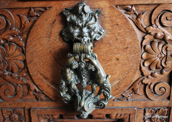 Dublin, National Museum of Ireland: Archaeology -- Door knocker