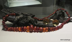 Dublin, National Museum of Ireland: Archaeology -- Amber and Gold