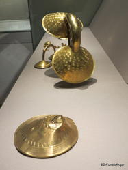 Dublin, National Museum of Ireland: Archaeology -- Gold, 800 BC. Cork