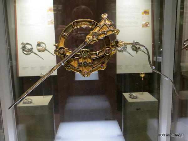 Dublin, National Museum of Ireland: Archaeology -- The Tara Brooch, 8th century, Meath Co
