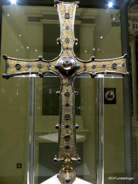 Dublin, National Museum of Ireland: Archaeology -- The Cross of Cong, early 12th century, County Mayo