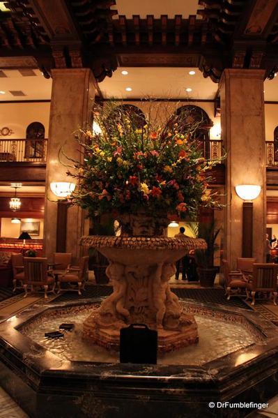 Memphis -- Lobby of the Peabody Hotel