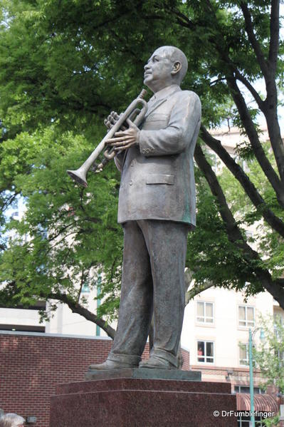 Memphis -- Beale Street, W.C. Handy Statue