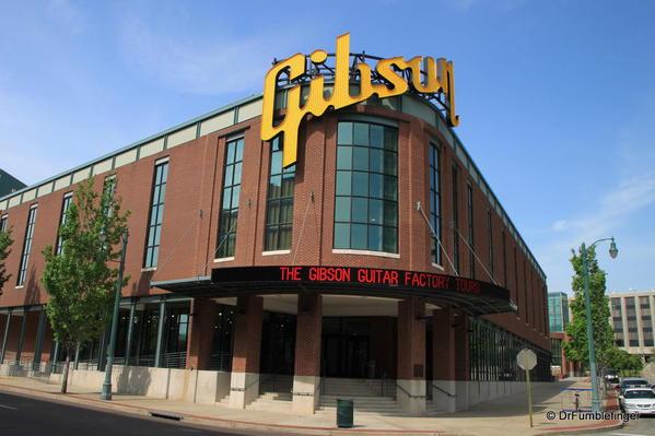 Memphis -- Gibson Guitars plant