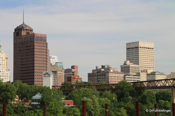 Memphis -- Skyline viewed from Mud Island